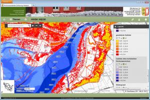 Hochwasserportal-Gefahrenkarte