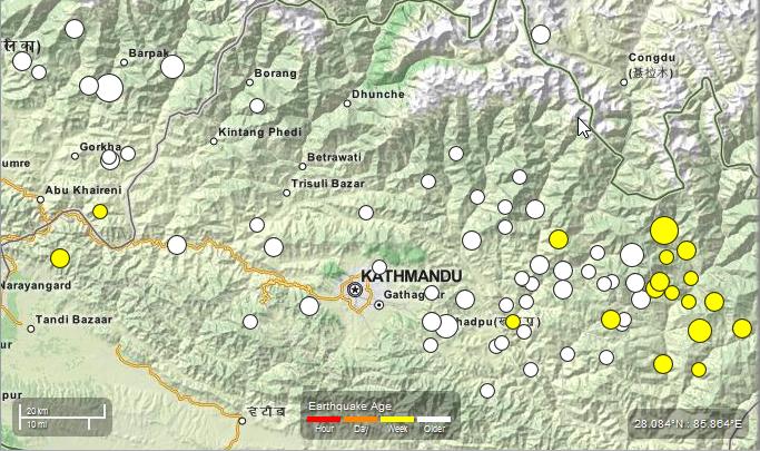 Nepal Earthquake USGS